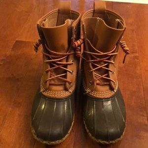 "LL Bean Boots 8"" thinsulate bean boot size 7"